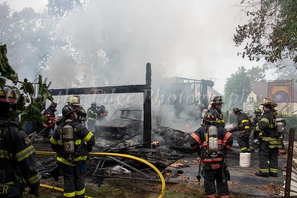 Oyster Bay Garage Fire 09/25/2020