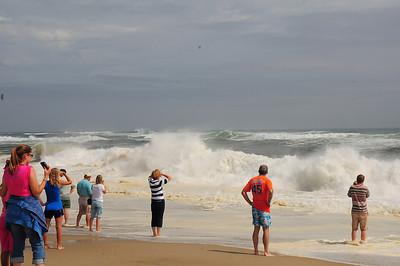 Hurricane Bill at Nauset Beach August 2009