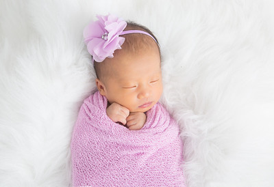 Baby Olivia's Edited Pictures