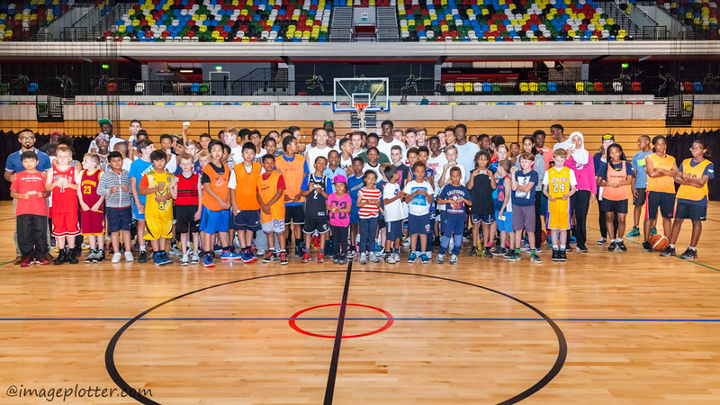 London Lions youth basketball day