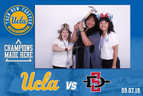 UCLA Bruins vs San Diego State Tailgate 2019
