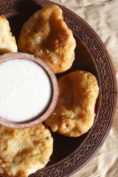 Malpuras are a kind of deep fried pancakes