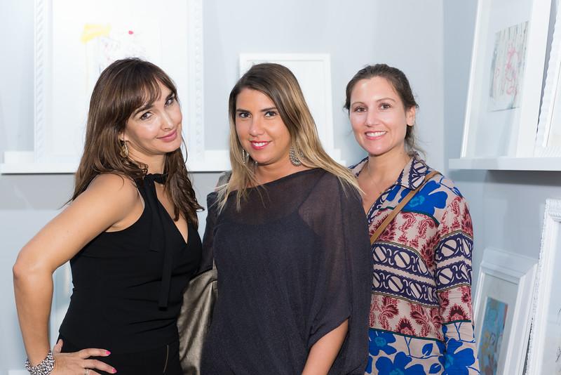 Susana Medrano, Alejandra Martínez, Fernanda Marinetti