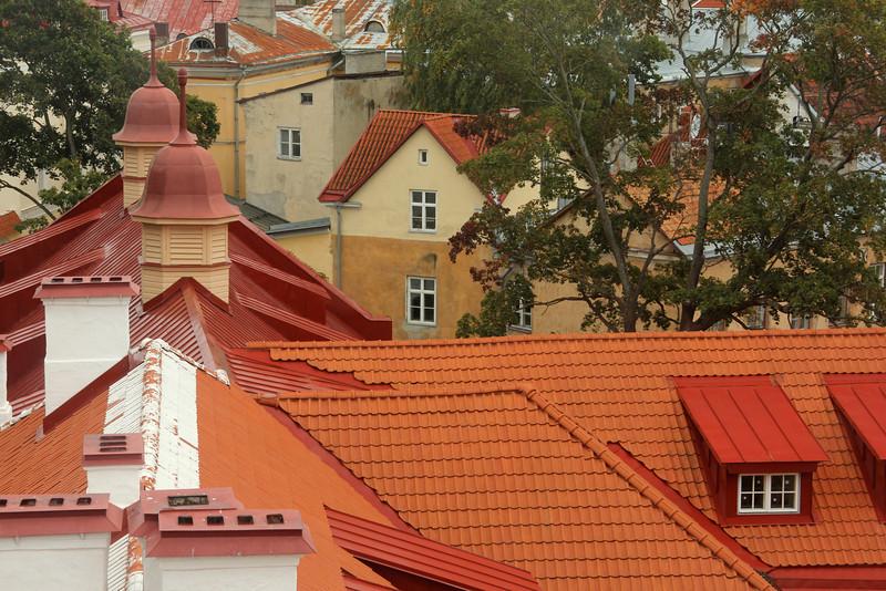 Great views from the Town Wall -Tallinn, Estonia