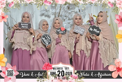 190620 | The Wedding Vani & Aal - Firda & Asfahani