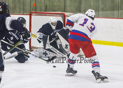 2018-12-19 WHS Boys Hockey vs St. Thomas Aquinas
