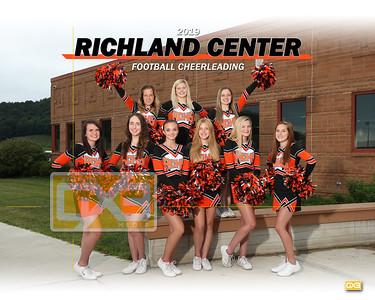 Richland Center football cheer FBC19