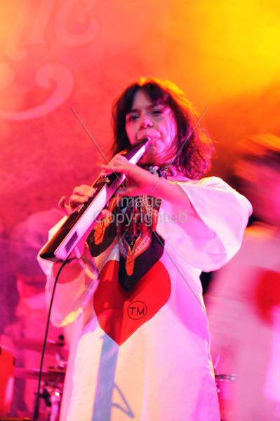 Audrey Easley, The Polyphonic Spree, Atlanta, GA. Center Stage, 2012