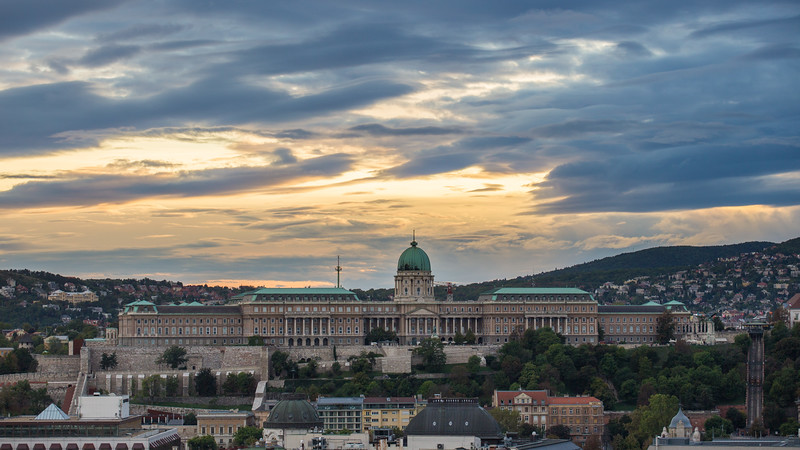Buda Castle from St Stephen Basilica