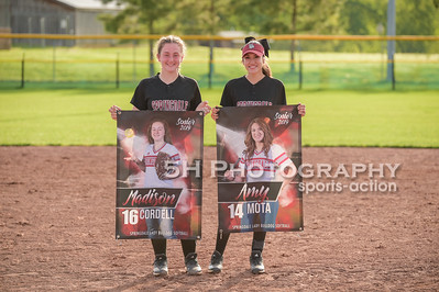 SHS Softball vs Van Buren & Sr. Night