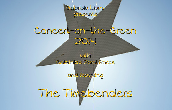 Lions Concert-on-the-Green 2014, Gabriola BC