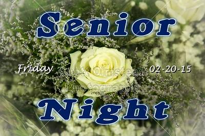 2015 Senior Night (02-20-15)