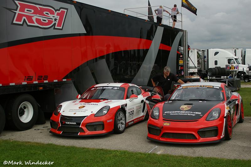 RS1 Porsche Cayman GT4 MR