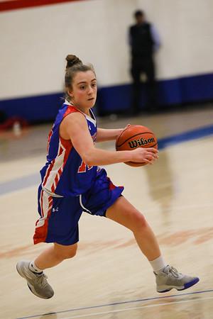 Girls' Varsity Basketball vs. Milton   November 23