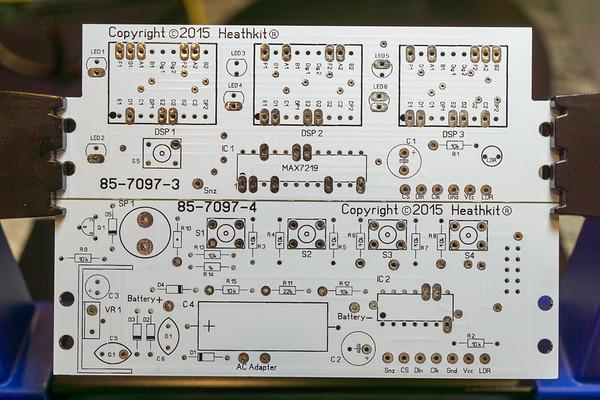 2017.08.26-27 Heathkit GC-1006 Assembly