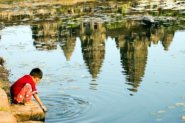 His Heritage. Angkor Wat, Cambodia