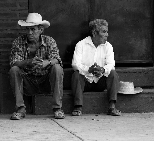 _MG_4194 old farmers in Mexico monochrome.jpg