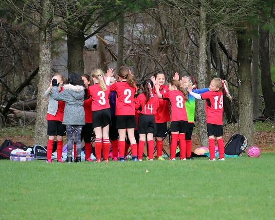 4-29-18 9U Girls Leopard - WIN