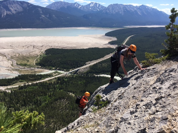 The Moose Staff Via Ferrata