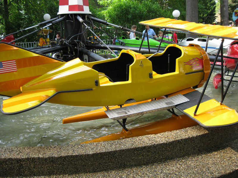 Sea/Land Rescue had new yellow and green planes.