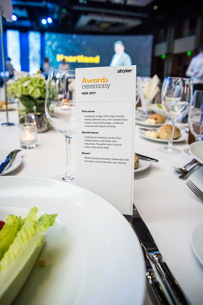 Awards Banquet reception