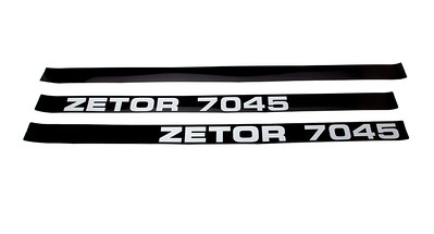 ZETOR 7045 DECAL SET