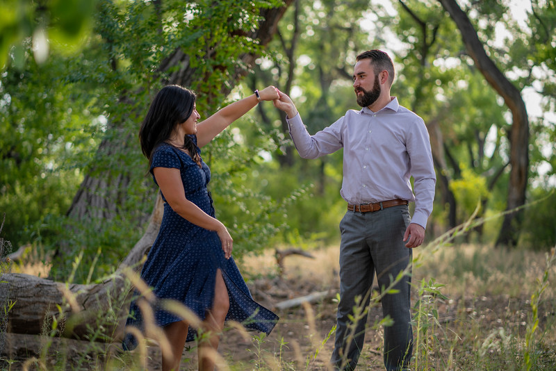 Gloria and AJ, epic albuquerque wedding engagement, rio rancho Bosque, G&A 5 (1 of 1).jpg