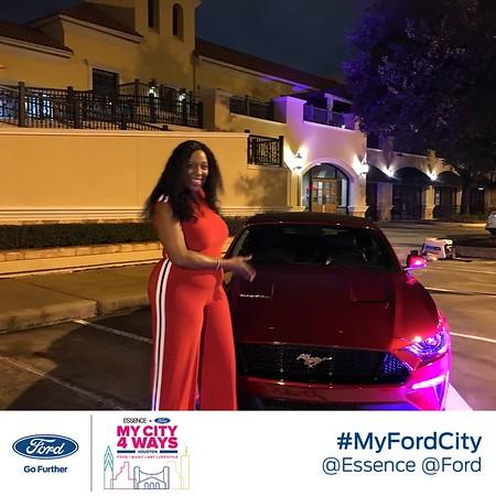 Ford + Essence My City 4 Ways Houston MP4s