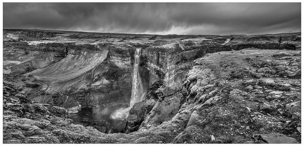 Iceland Fall - Black & White 2018