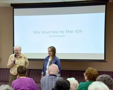 Rachels IDF Lecture at the JCC 071116