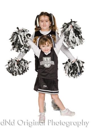 Upwards Basketball and Cheerleading Examples