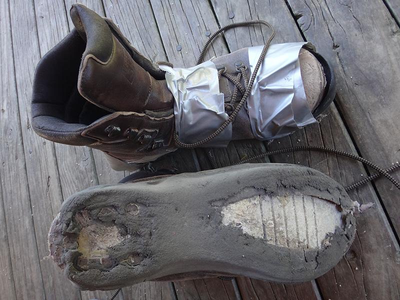 Unhappy boots