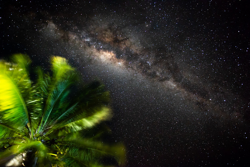 The Milky Way over Lizard Island, Australia