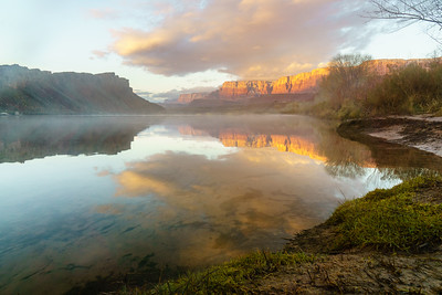 Grand Canyon 16-17 Map