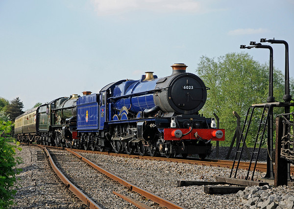 Two Kings in Steam at Didcot