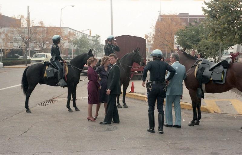 IPD Mounted at Circus 1984