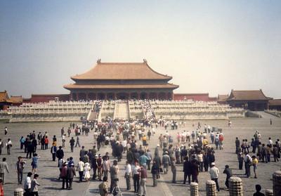 China--May/June 1989