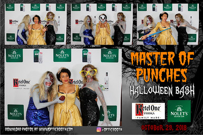 Master Punches Halloween Bash 2018