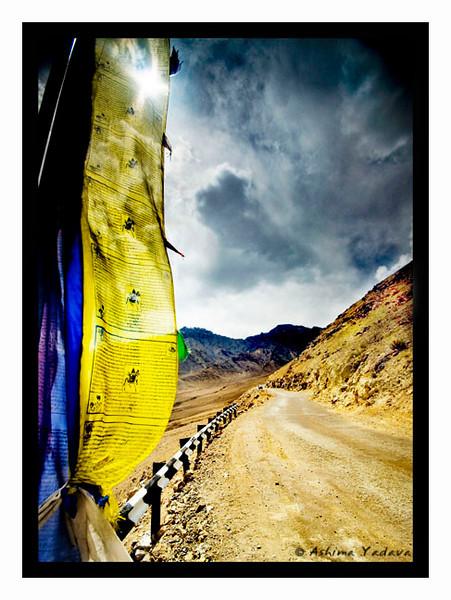 En Route Nubra Valley.
