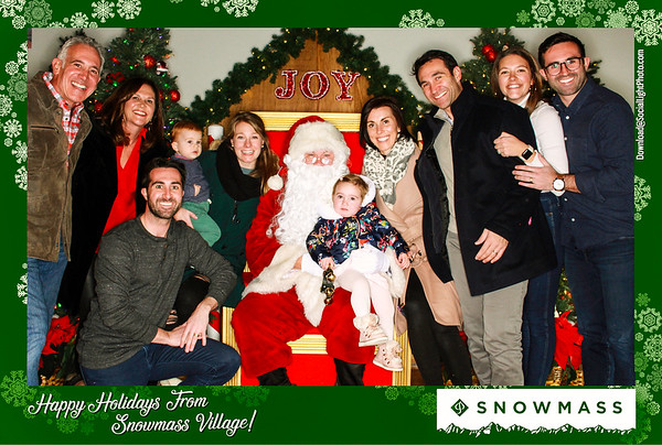 The Town of Snowmass Village Presents: Photos With Santa 2019: Day 2