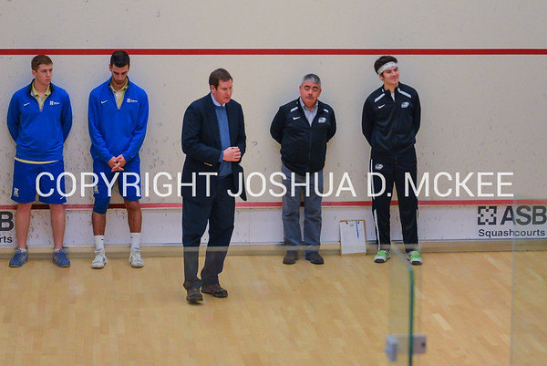 Hamilton Men's Squash v Bard 12-6-15