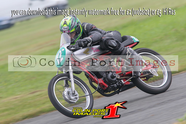 CLASSIC UP TO 250cc-125 & 250 SINGLE CYL-JUNIORS RACES 6 & 16 AINTREE JUNE 2016