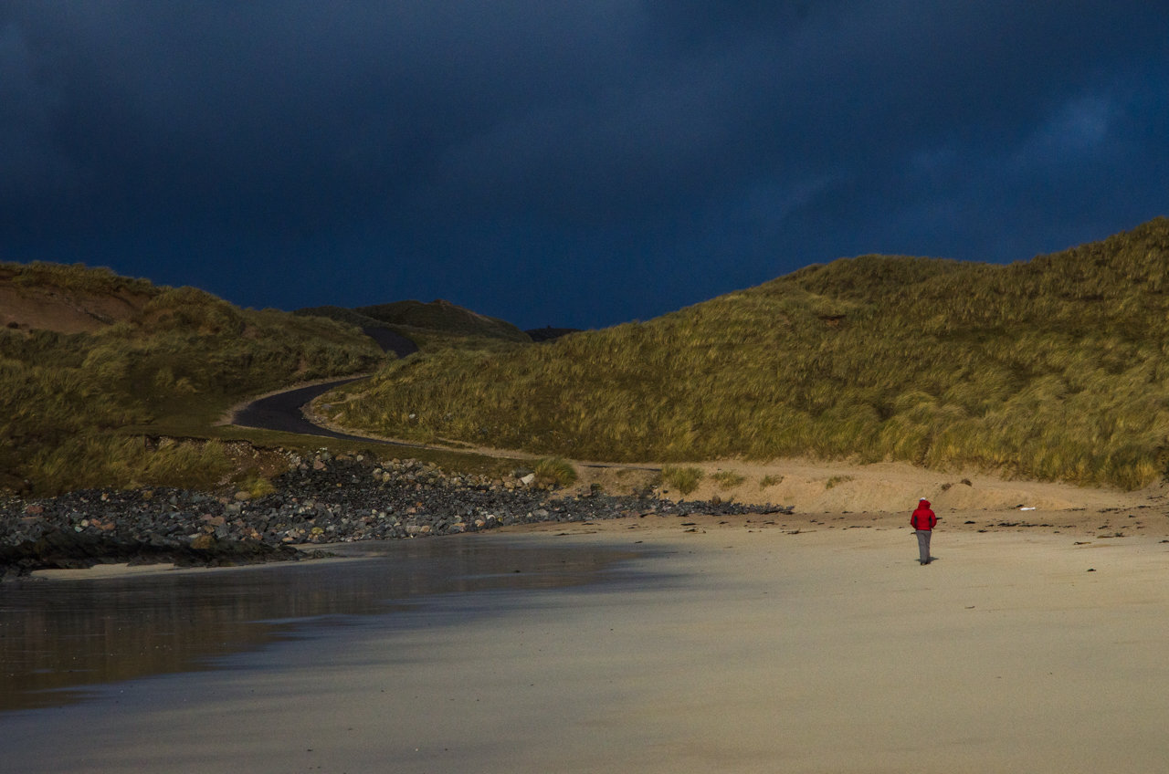 NC500 - Durness - Balnakeil Beach before the storm
