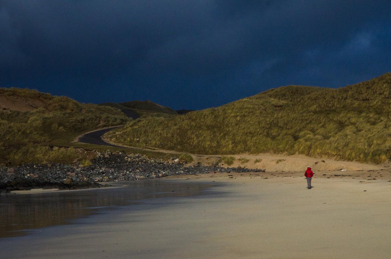 NC500 - Durness - Balnakeil Beach before the storm