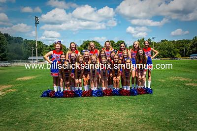 Middle School Cheer 2018-2019