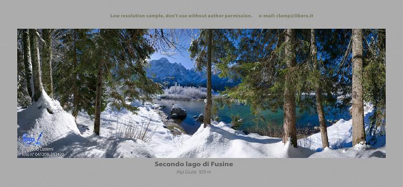 Secondo lago di Fusine - foto n° 041208-253420