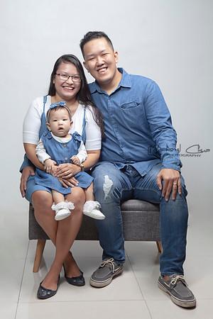 Baby Jarah Alisha G. Carmona   Family Studio Shoot