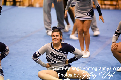 11-12-2016 Magruder HS at MCPS Cheerleading Championship Division 2 at Montgomery Blair HS, Photos by Jeffrey Vogt Photography