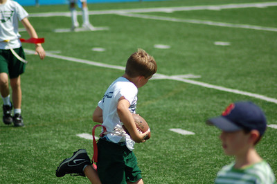 Preston's Flag Football Season 2007