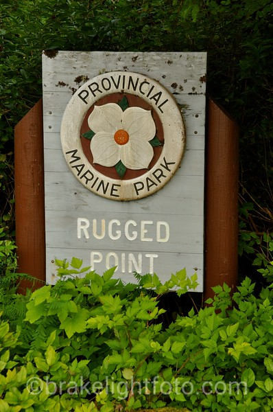 Rugged Point Park Sign